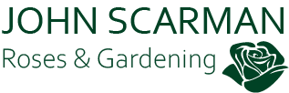 John Scarman – all about Roses and Gardening Logo